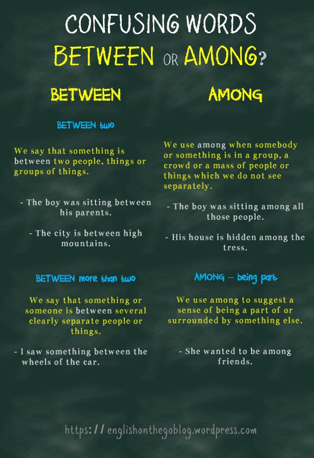Confusing words - Between or Among-page-001